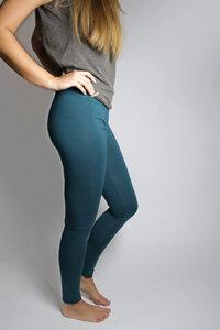 Bio Leggings smaragd - Frija Omina