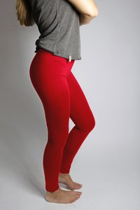 Bio Leggings chilirot - Frija Omina