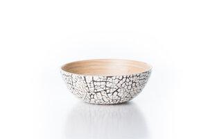 Bambusschälchen - Mosaik * Schale aus Bambus - Bea Mely