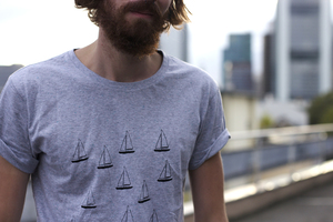 Boats Fair Trade / Bio Men Shirt - ilovemixtapes