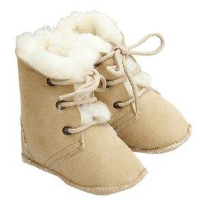 Baby Stiefel Maxi beige - Fellhof