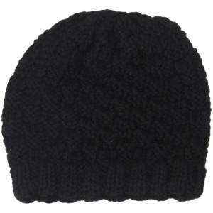 Mütze Alpaka - Schwarz - Anukoo