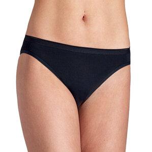 2er Pack Bikini Slip 100% BioBaumwolle Schwarz oder Weiß - ESGE
