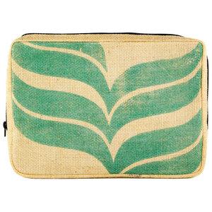 Laptop-Tasche - 13 Zoll aus Kaffeesack mit verschiedenen Motiven - Upcycling Deluxe