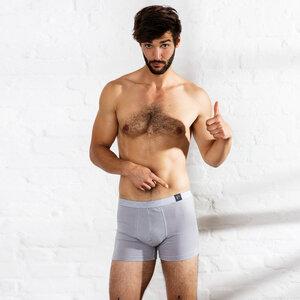 gustav - enge boxershort mit 95% baumwollanteil - erlich textil