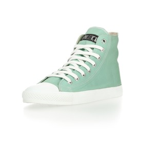 Fair Trainer Hi Cut Collection Sunny Bay Green | Just White - Ethletic