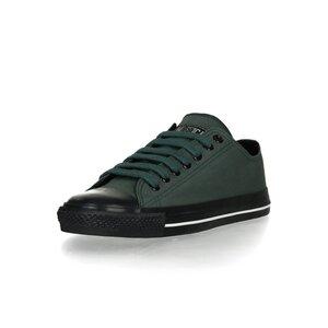 Black Cap Lo Cut Collection Reseda Green | Jet Black - Ethletic