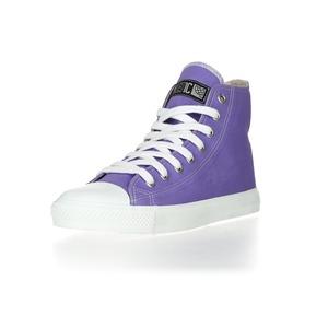 Fair Trainer  Hi Cut Collection Purple Rain | Just White - Ethletic