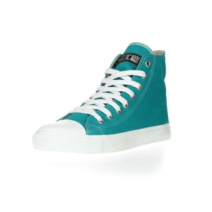 Fair Trainer  Hi Cut Collection Tropical Leaf | Just White - Ethletic