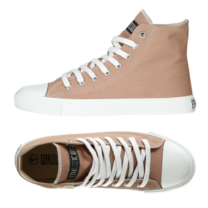 Fair Trainer  Hi Cut Collection Light Clay | Just White - Ethletic