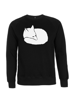 Fuchs Unisex Sweatshirt / Bio & Fair Wear BLACK  - ilovemixtapes