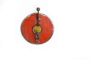 Ölfässer Aufhänger/Garderobe, rund (einfach) - Africa Design