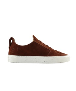 Argan Low Wildleder Rust  - ekn footwear