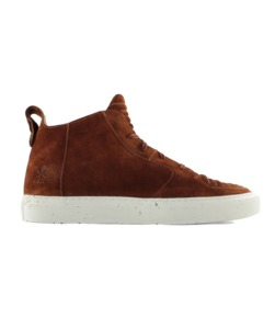 Argan Mid Wildleder Rust  - ekn footwear