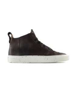 Der Argan Mid braunes geöltes Leder - ekn footwear