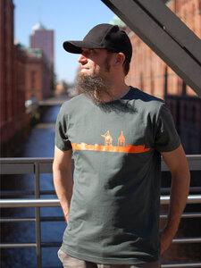 Hafenanlage Boy-T-Shirt - T-Shirtladen-Marktstrasse GmbH
