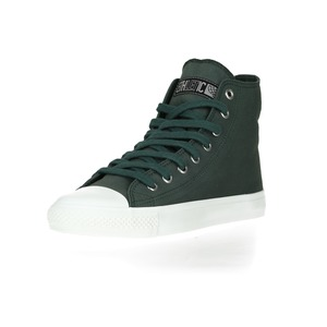 Fair Trainer  Hi Cut Collection Reseda Green | Just White - Ethletic
