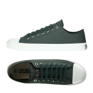 Fair Trainer  Lo Cut Collection Reseda Green   Just White - Ethletic