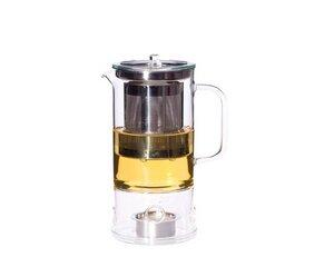 Teekanne Sign 0,6 l mit integriertem Teewärmer - Trendglas Jena