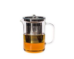 Teekanne Pisa 0,6 l mit Edelstahlfilter und Glasdeckel - Trendglas Jena