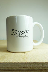 Paperboat Kaffeebecher / Tasse / Made in EU  - ilovemixtapes
