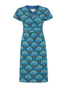 Jerseykleid mit 1/4 Arm - Blau - Madness