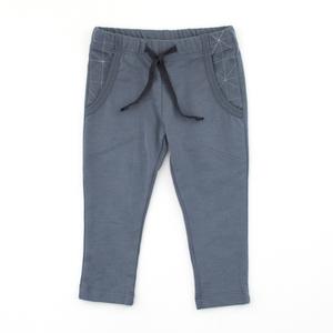 Sweat Hose in Grau, Jeansblau, Terracotta - Pünktchen Komma Strich