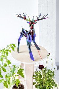 3D Puzzle - Totem STAG / GROßER WALDHIRSCH - studio roof