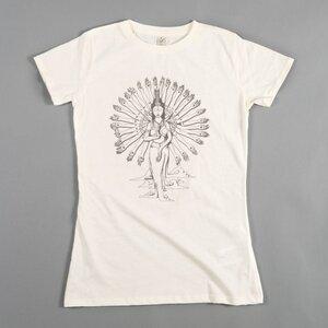Women T-Shirt GUAN YIN natur - MR. NELSON ecowear