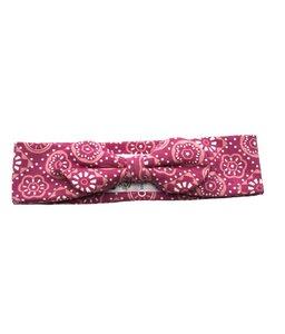 Mädchen Stirnband pink gemustert Bio Baumwolle - Kite