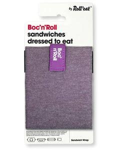 Boc´n Roll Sandwich Tüte Baumwolle - Roll´eat