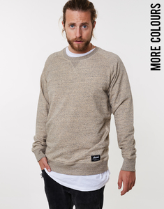 ORGANIC NBNE Heather Cross Sweater - merijula