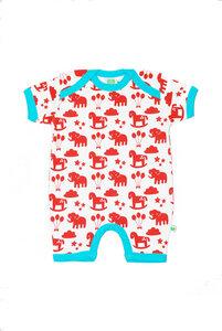 Baby-Spieler 'Funfair' weiß-rot-blau für Jungen und Mädchen - Sture & Lisa