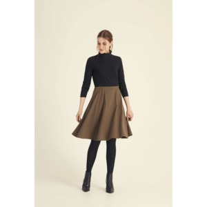 Riley Skirt in Khaki  - People Tree