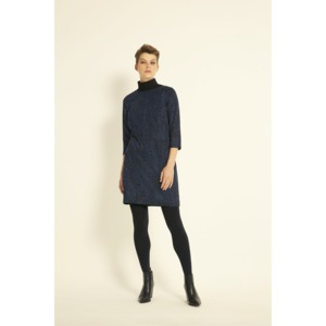 Tanya Shift Dress in Navy - People Tree