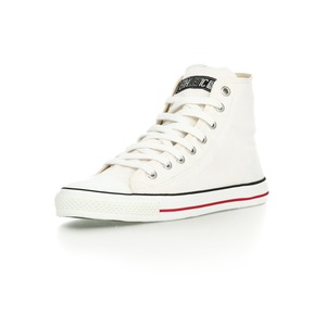 Fair Trainer Hi Cut Classic Just White | Just White - Ethletic