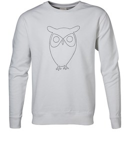 KNOWLEDGE COTTON APPAREL Sweat W/Embossed Owl - KnowledgeCotton Apparel