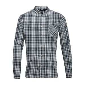 Checked Light Flannel Shirt-White - KnowledgeCotton Apparel