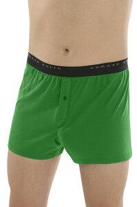 Fairtrade Boxer-Shorts, grün - comazo|earth