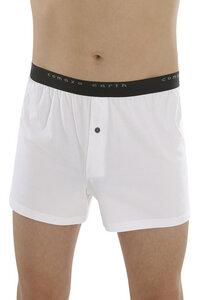Fairtrade Boxer-Shorts, weiss - comazo|earth
