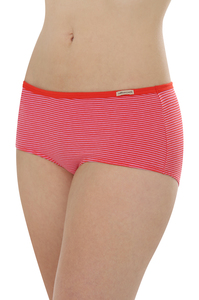 Fairtrade Hipster low cut, tomate geringelt - comazo|earth