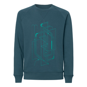 ThokkThokk ST Tubes Raglan Sleeve Sweatshirt stargazer - ThokkThokk ST