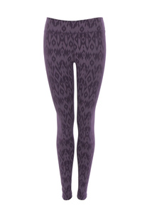 Leggings Lima, plum + dark plum - Jaya