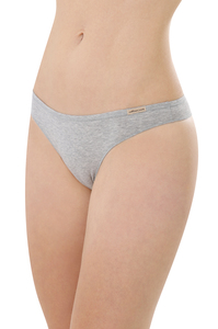 Fairtrade String,grau-melange - comazo|earth