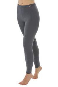 Fairtrade Leggings, anthrazit - comazo|earth