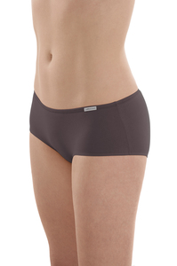 Fairtrade Panty, anthrazit - comazo|earth