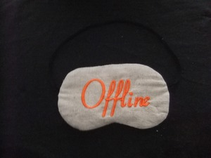 """Schlafbrille """"offline"""" - Cannamoda"""