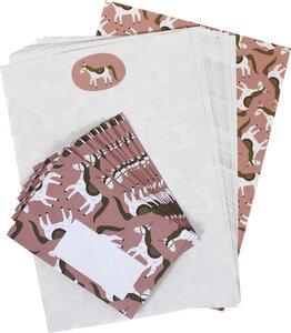 Briefpapier-Set Zirkuspferd - ava&yves