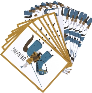 Einladungskarten-Set Ritter - ava&yves