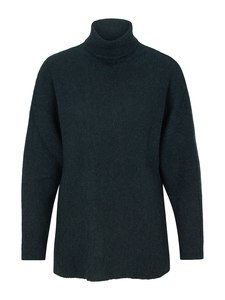 Turtle Neck Sweater Alpaka - green - Les Racines Du Ciel